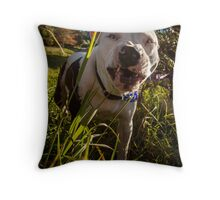 Saffy Snaggletooth Throw Pillow
