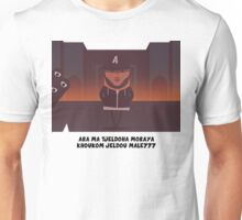 cartoon portrait minimalist Unisex T-Shirt