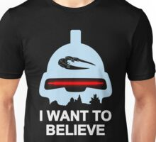 Believe in toasters Unisex T-Shirt