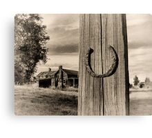 Horseshoe Corral Canvas Print
