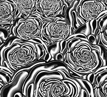 Black Roses Design  by Sookiesooker