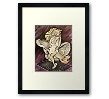 Marilyn Mon-Fish-Roe Framed Print