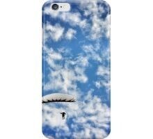 floating down... iPhone Case/Skin