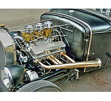 Ford Model 'A' Coupe Hotrod Photographic Print