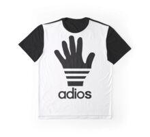 Adios parody logo Graphic T-Shirt