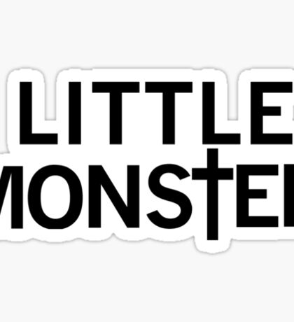 Little Monster Sticker