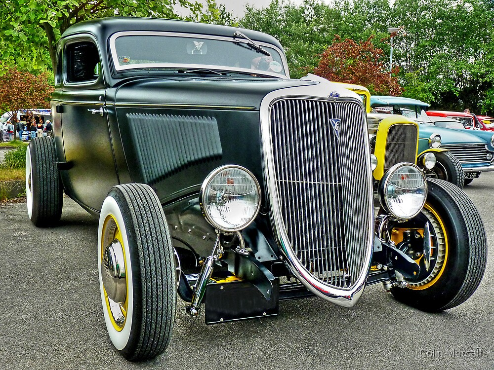 1934 Ford Coupe by Colin Metcalf