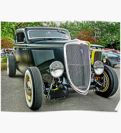 1934 Ford Coupe Poster