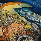 Seven birds 1 by Tatjana Larina