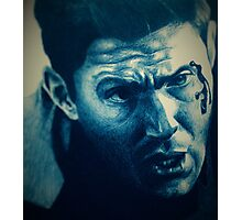 Dean Winchester in Ink Photographic Print