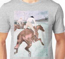 Le Jockey by Henri de Toulouse-Lautrec Unisex T-Shirt