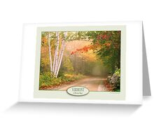 Cilly Hill Road Greeting Card