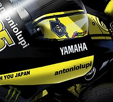 Cal Crutchlow - 2011 Monster Tech 3 Yamaha M1 by quigonjim