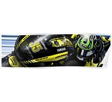 Cal Crutchlow - 2011 Monster Tech 3 Yamaha M1 Poster