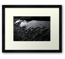 Berenice Abbott said : I am not a nice girl, I'm a photographer, I go anywhere ..... Framed Print