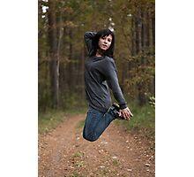Jump! Photographic Print