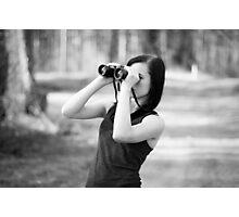Binoculars Photographic Print