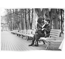 Couple in park Poster