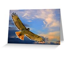 Soaring with the Clouds Greeting Card
