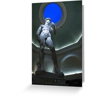 Michelangelo's David Greeting Card