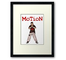MoTioN's Garments Framed Print