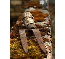 Garden Fork Photographic Print
