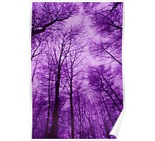 PURPLE WOOD Poster