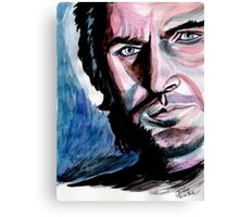 Richard Armitage, sweet dark Guy Canvas Print