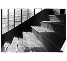 Pavilion Steps, Stadium, Peebles Poster