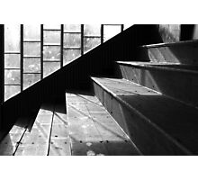 Pavilion Steps, Stadium, Peebles Photographic Print