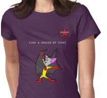 GeekGirl - Like a shield.. Womens Fitted T-Shirt