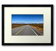 Road to North Cape Framed Print