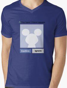 Friends? Micky Mens V-Neck T-Shirt