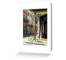 A Beautiful Day In The French Quarter Greeting Card