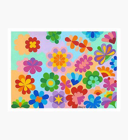 FLOWER FIGUREN - AQUAREL Photographic Print