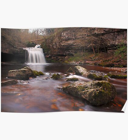 West Burton falls - Yorkshire Dales Poster