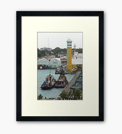 Harbor Master Framed Print