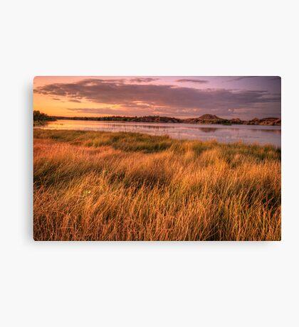 Willow Lake Violet Canvas Print