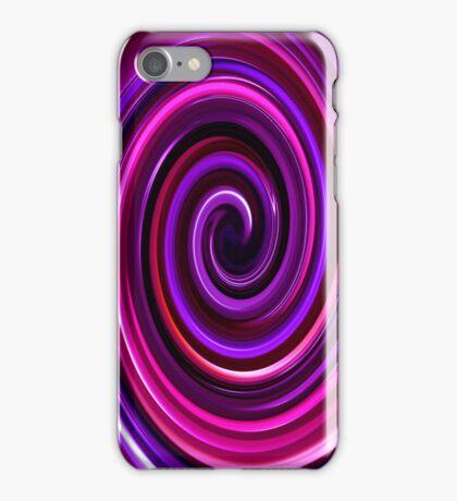 Purple Swirl IPhone & IPod case iPhone Case/Skin