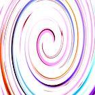 White Swirl IPhone & IPod case by Magdalena Warmuz-Dent