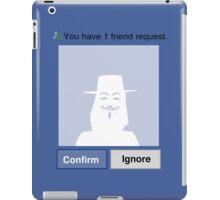 Friends? V iPad Case/Skin