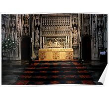 St.Albans Cathedral - The Altar Poster