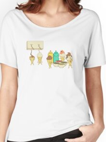Ice Cream Hair Fun Women's Relaxed Fit T-Shirt