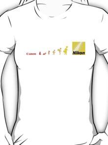 Nikon vs Canon T-Shirt