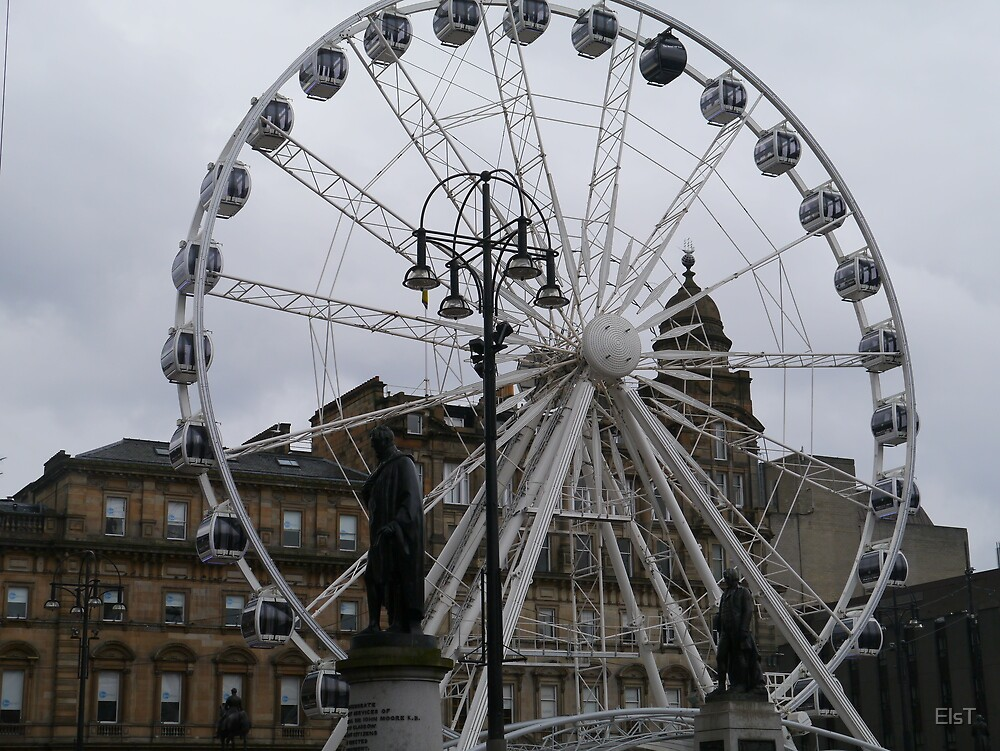 Never mind the London Eye..What about the Glasgow AYE !! by ElsT