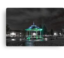 Bandstand Glow Canvas Print