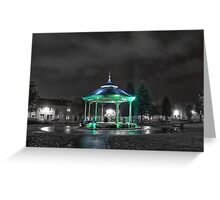 Bandstand Glow Greeting Card