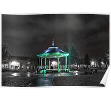 Bandstand Glow Poster