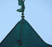 Angel of Judgement, Angel Gabriel - St. Marys Historical Church by John Schneider