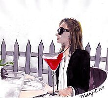 Lady's Luncheon by Manju